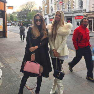 Victoria and Zoe - Valentino bag. Image from @victoriabakerharber Instagram micro bags ss15 fashion trend