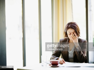 Stressed out businesswoman  how stress can affect your health and how to fix it