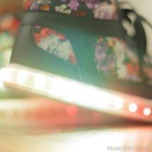 DIY LED Light up shoes